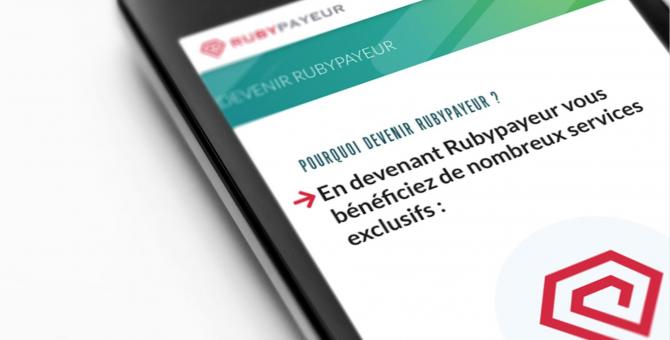 Nouveau partenariat : Rubypayeur, n°1 du recouvrement communautaire